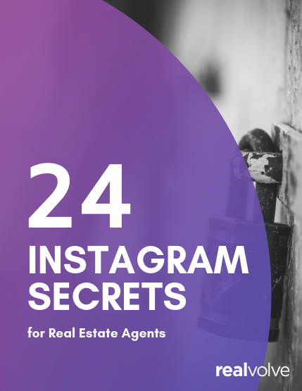 Ebook cover 24 Instagram Secrets for Real Estate Agents