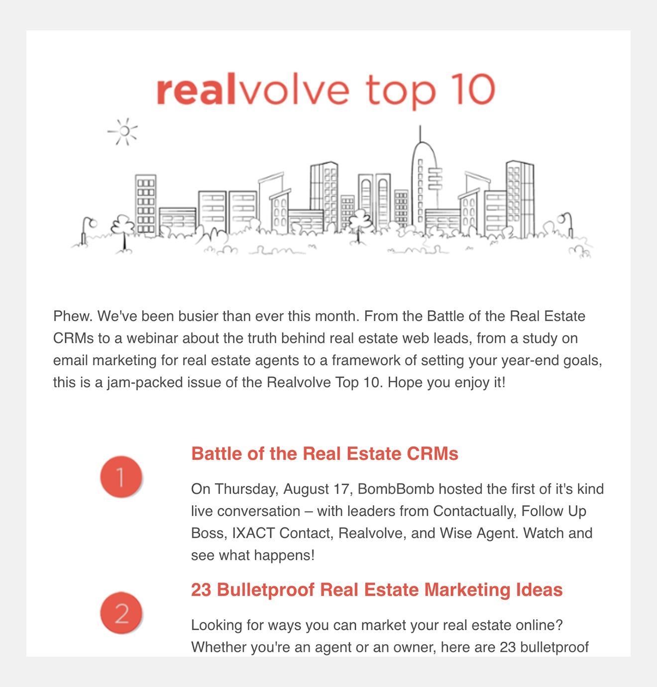 realvolve-real-estate-crm-newsletter
