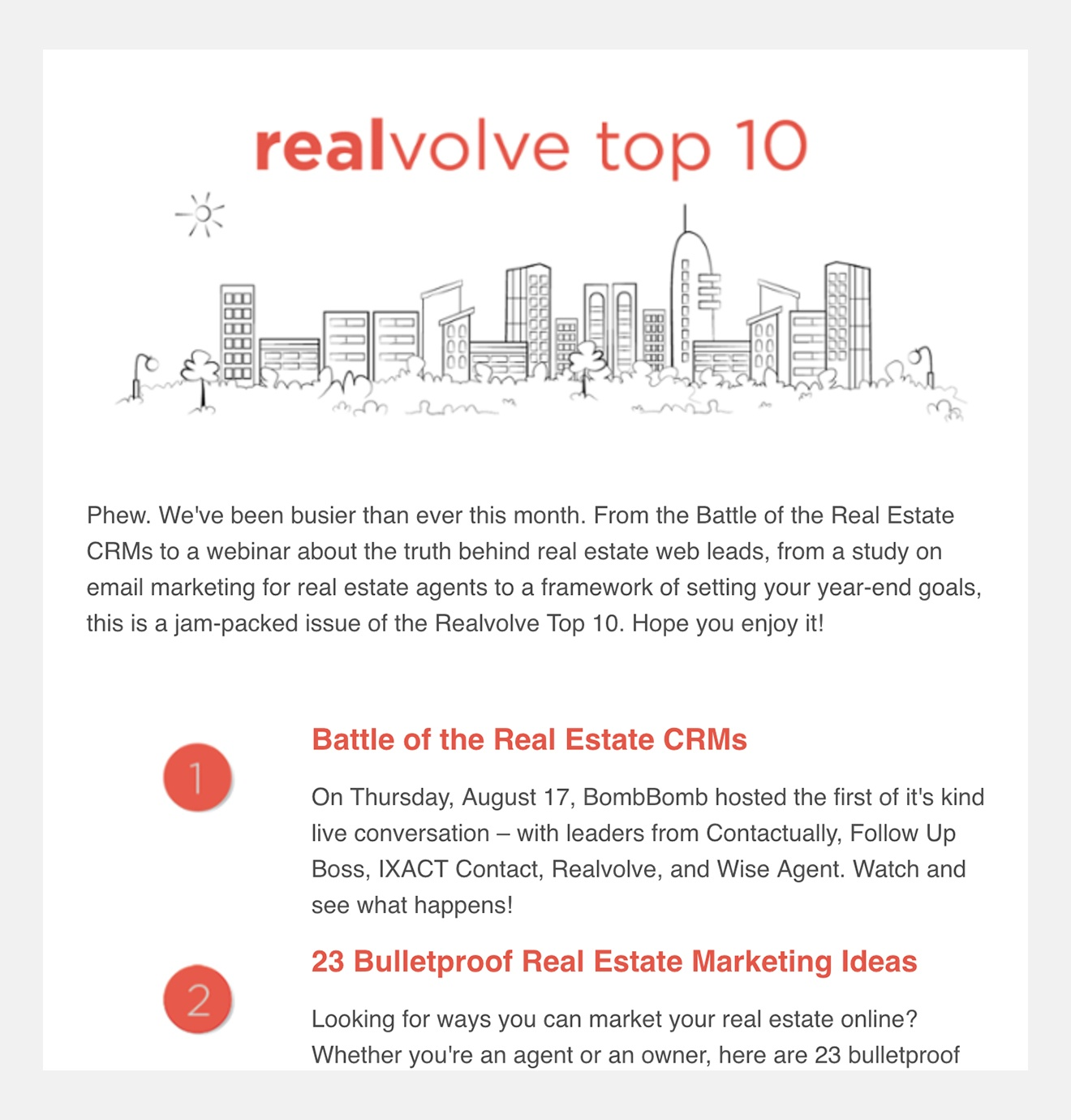 realvolve-real-estate-crm-newsletter